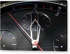 Macro Watch Closeup Acrylic Print