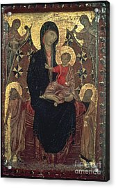 Madonna And Child Acrylic Print by Granger