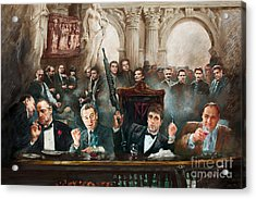 Mafia Acrylic Print by Mafia