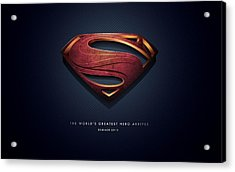 Man Of Steel 2013 Acrylic Print