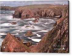 Mangersta Coastline Acrylic Print