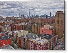 Acrylic Print featuring the photograph Manhattan Landscape by Joan Reese