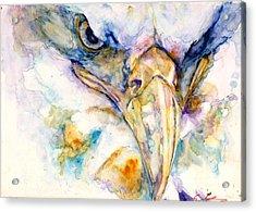 Marie's Eagle Acrylic Print