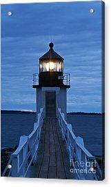 Marshall Point Light Acrylic Print by John Greim
