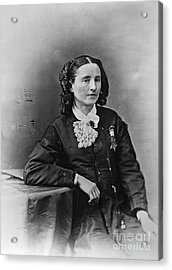 Mary Edwards Walker Acrylic Print by Granger