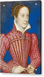 Mary, Queen Of Scots Acrylic Print by Francois Clouet