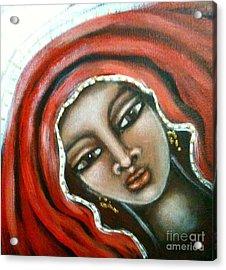 Maryam Acrylic Print by Maya Telford