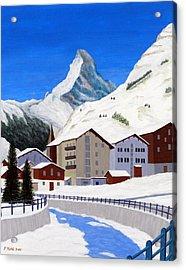Matterhorn-zermatt Acrylic Print