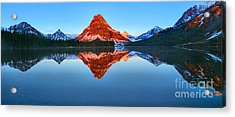 2 Medicne Morning Glow Spectacular Acrylic Print by Adam Jewell