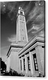 Memorial Tower - Lsu Bw Acrylic Print