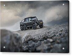 Mercedes G63 6x6 In Oman Acrylic Print