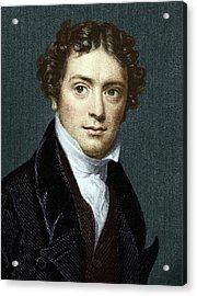 Michael Faraday, British Physicist Acrylic Print by Sheila Terry