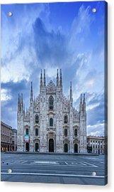 Milan Cathedral Santa Maria Nascente Acrylic Print
