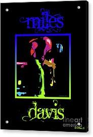 Miles Davis Acrylic Print