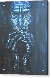 Miles Acrylic Print by Shahid Muqaddim