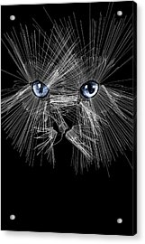 Mister Whiskers Acrylic Print