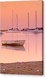 Misty Morning Osterville Cape Cod Acrylic Print by Matt Suess