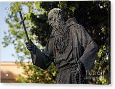 Acrylic Print featuring the photograph Monument To Fray Pablo De Cadiz Alameda Apodaca Cadiz Spain by Pablo Avanzini