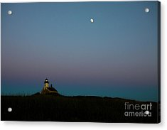 Moon Over The North Light Acrylic Print