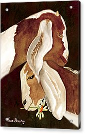 Mother's Love Acrylic Print by Anne Beverley-Stamps