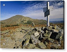 Mount Washington - White Mountains New Hampshire Usa Acrylic Print by Erin Paul Donovan