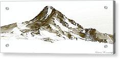 Mt. Hood Acrylic Print by Steve Warnstaff