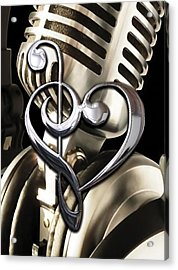 Musical Heart Collection Acrylic Print