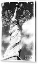 My Lady Liberty Acrylic Print