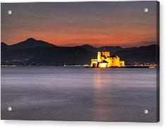 Nafplio - Greece Acrylic Print by Constantinos Iliopoulos