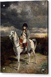 Napoleon Bonaparte On Horseback Acrylic Print