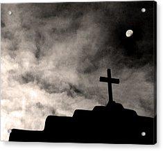 New Mexico Moon Acrylic Print
