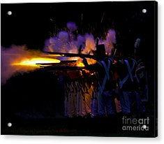 Night Battle Acrylic Print