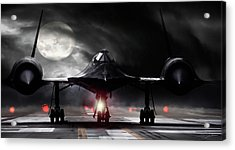Night Moves Acrylic Print by Peter Chilelli