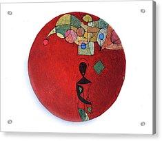 No Turning Back Acrylic Print by Ronex Ahimbisibwe
