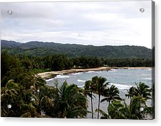 North Shore Acrylic Print by Thea Wolff