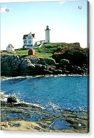 Nubble Lighthouse Maine Acrylic Print