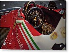 Number 11 By Niki Lauda #print Acrylic Print
