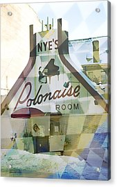 Nye's Polonaise Room Acrylic Print by Susan Stone