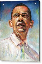 Obama 08 Acrylic Print