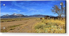 Old Homestead Acrylic Print by Robert Bales
