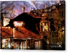 Acrylic Print featuring the photograph Old Istanbul by Dariusz Gudowicz