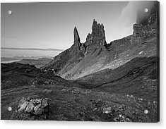 Acrylic Print featuring the photograph Old Man Of Storr by Davorin Mance
