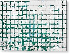 Old Tiles Acrylic Print by Tom Gowanlock