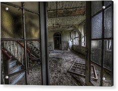 Open Doors Acrylic Print by Nathan Wright