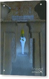 Osiris, God Of Egypt By Mb Acrylic Print