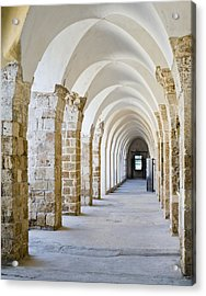 Ottoman-style Arched Corridor Acrylic Print by Noam Armonn