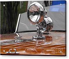 1050's Outboard Runabout Acrylic Print