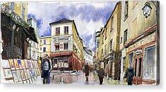 Paris Montmartre  Acrylic Print