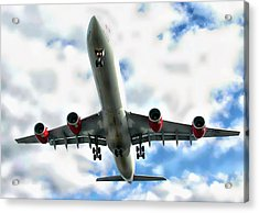 Passenger Plane Acrylic Print