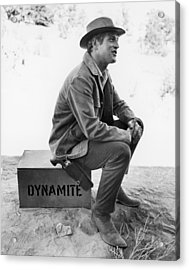 Paul Newman (1925-2008) Acrylic Print by Granger